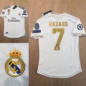 Real Madrid Home soccer jersey Eden Hazard #7